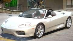 Ferrari 360 Rodster para GTA 4