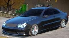 Mercedes Benz CLK63 AMG V1.1 para GTA 4