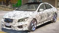 Mercedes Benz CLA V1 PJ para GTA 4