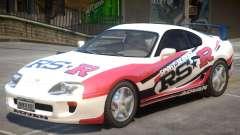 1995 Toyota Supra V1 PJ para GTA 4