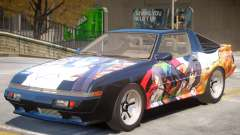 1986 Mitsubishi Starion PJ2 para GTA 4