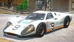 1967 Ford GT40 V1 PJ6 para GTA 4