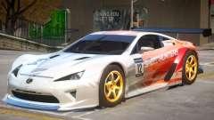 Lexus LFA V1 PJ para GTA 4