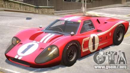 1967 Ford GT40 V1 PJ9 para GTA 4