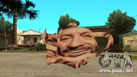 Mikhail Shufutinsky Funny Smiling Flying Teapot para GTA San Andreas