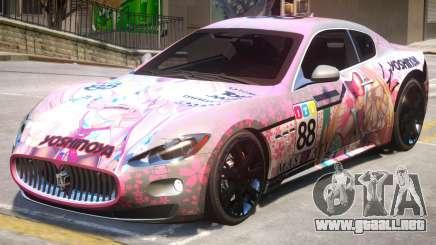 2012 Maserati Granturismo PJ3 para GTA 4