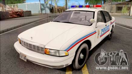 Chevrolet Caprice 1995 SA State Police para GTA San Andreas