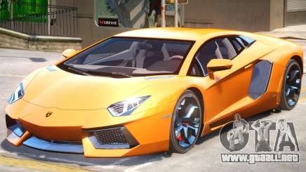 2012 Lamborghini Aventador para GTA 4