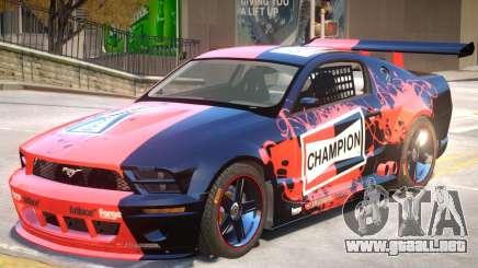 Ford Mustang GTR V1 J5 para GTA 4