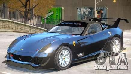Ferrari 599 V1 para GTA 4