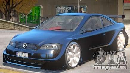 Opel Astra Tuning para GTA 4