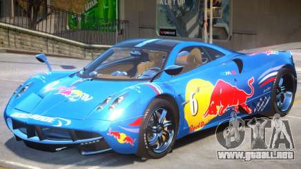 Pagani Huayra furious V1 PJ1 para GTA 4