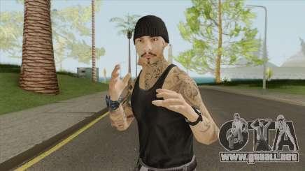 Aztecas Member Skin V1 GTA V para GTA San Andreas