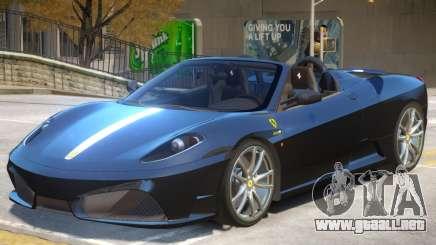 Ferrari Scuderia V1 para GTA 4