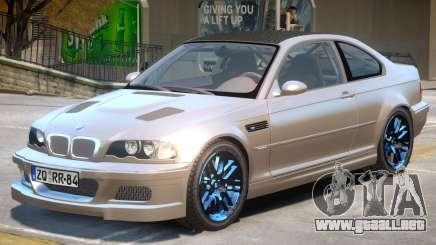 BMW M3 E46 Tuning para GTA 4