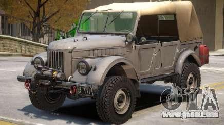 GAZ 69 V2 para GTA 4