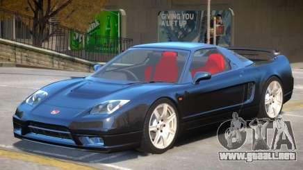 Honda NSX-R V1 para GTA 4