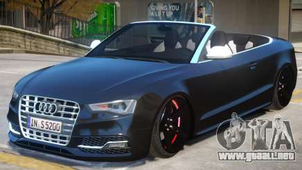 Audi S5 Cabrio para GTA 4