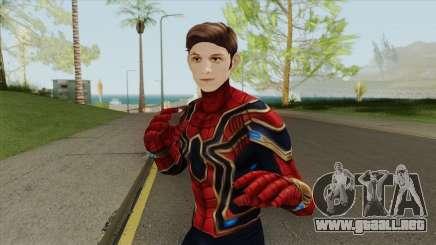 Iron Spider Unmasked (Spider-Man FFH) para GTA San Andreas