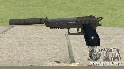 Hawk And Little Pistol GTA V (LSPD) V7 para GTA San Andreas