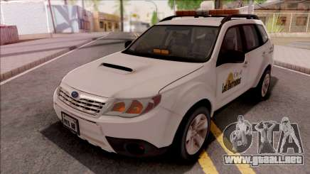 Subaru Forester 2011 City of Las Barrancas para GTA San Andreas