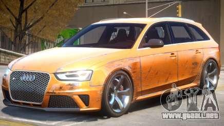 Audi RS4 Avant V1.2 para GTA 4