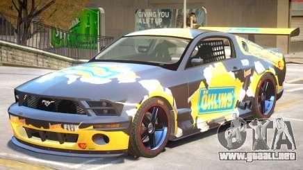 Ford Mustang GTR V1 J6 para GTA 4