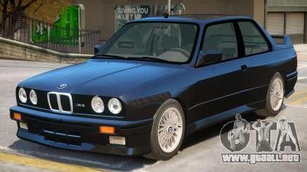 1991 BMW M3 E30 para GTA 4