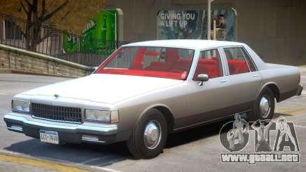 1989 Chevrolet Caprice V2 para GTA 4