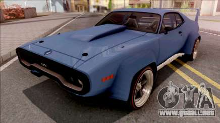 Plymouth GTX 1972 Custom para GTA San Andreas