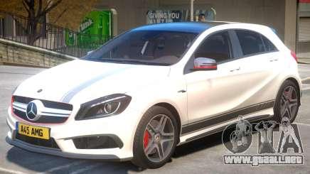 Mersedes Benz A45 V1 PJ1 para GTA 4