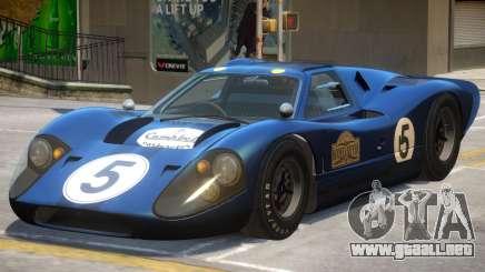 Ford GT40 PJ4 para GTA 4