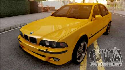 BMW M5 E39 Yellow para GTA San Andreas
