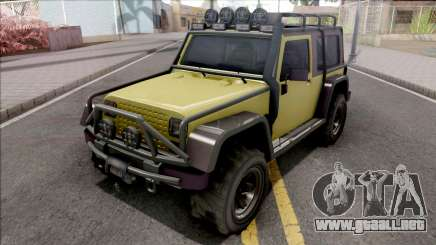 GTA V Canis Mesa Grande VehFuncs Style para GTA San Andreas