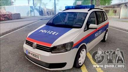 Volkswagen Touran 2010 APM para GTA San Andreas