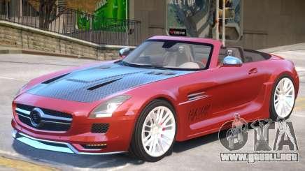 Mercedes Benz SLS Rodster PJ1 para GTA 4