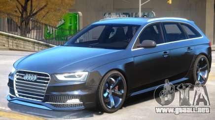Audi RS4 Avant Sky para GTA 4
