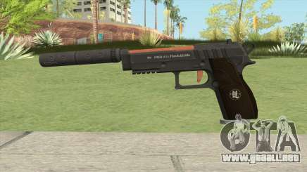 Hawk And Little Pistol GTA V (Orange) V6 para GTA San Andreas