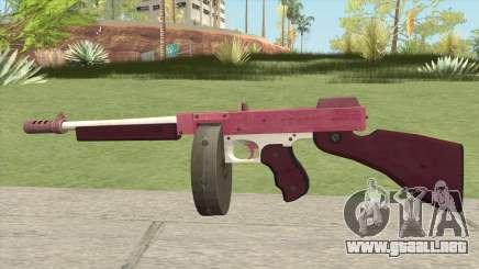 Edinburgh Gusenburg Sweeper GTA V (Pink) V1 para GTA San Andreas