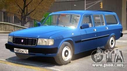 GAZ 31022 R2 para GTA 4