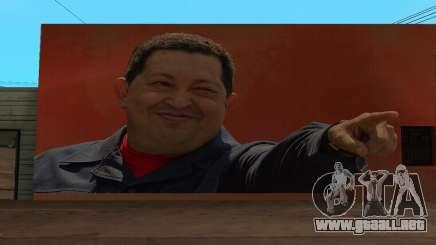 Hugo Chavez Wall para GTA San Andreas