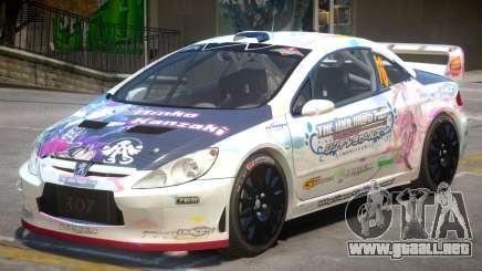 Peugeot 307 WRC PJ1 para GTA 4