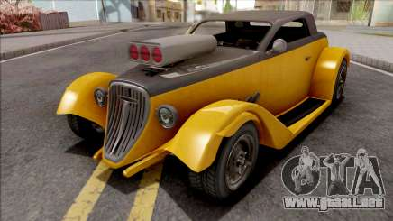 GTA V Vapid Hotknife Yellow para GTA San Andreas