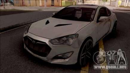 Hyundai Genesis Coupe Grey para GTA San Andreas