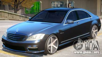 Mercedes Benz S65 Vossen para GTA 4