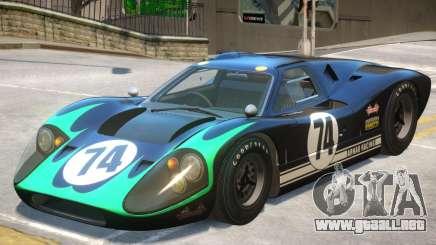 1967 Ford GT40 V1 PJ8 para GTA 4