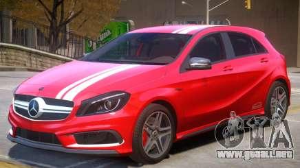 Mersedes Benz A45 V1 PJ5 para GTA 4