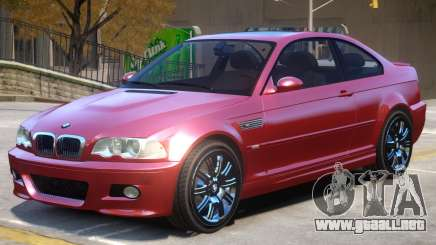BMW M3 E46 Stock para GTA 4