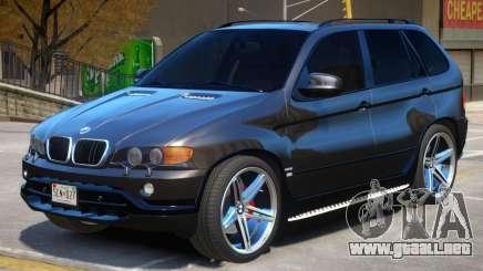 BMW X5 R3 para GTA 4