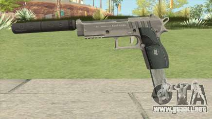 Hawk And Little Pistol GTA V Black (Old Gen) V7 para GTA San Andreas